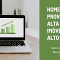 Home office provoca alta em imóveis de alto valor
